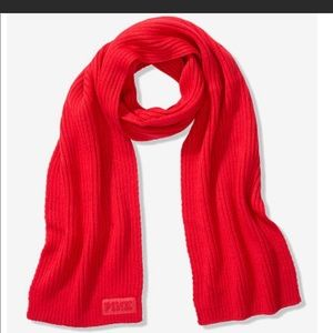 🆕 PINK Victoria's Secret Red winter Scarf🧣